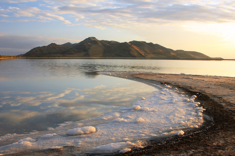 Stansbury Island and the Great Salt Lake