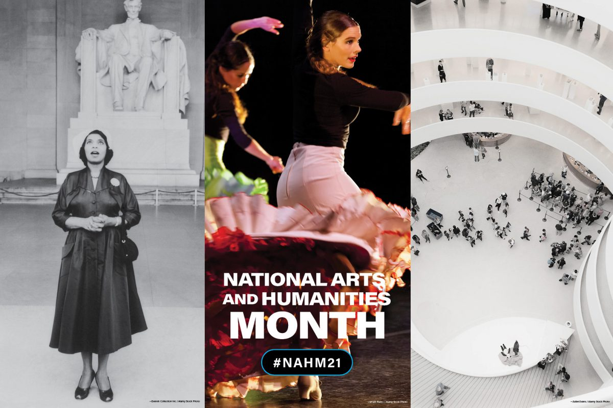 National Arts and Humanities Month. #NAHM21.
